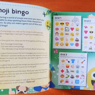 Emoji Activity Book