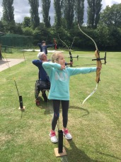 Me doing archery
